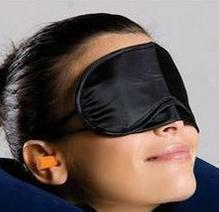 Wholesale Hot selling Health care the black sleeping mask eye cover for sleeping eyeshade snoring products