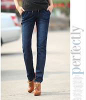 Wholesale Womens Trousers Skinny Tight Jeans Sizes high grade Trousers temperament cotton jeans C033