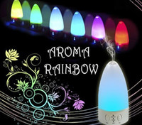 Wholesale Colorful Night Lamp Aroma Diffuser Air purifiers Negative Loniser Humidifier