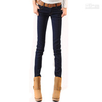Wholesale East Knitting JE Women low Waist Skinny Jeans Plus Size XXXL Best Quality Fast Del