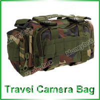 Wholesale Heavy Duty Army Outdoor Travelling Camera Bag Dark Green