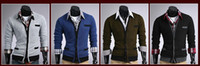 Wholesale 2013 Fashion New Men s cotton Sweater Cardigan stylish Knitwear V neck Slim Casual Sweater FREE SH