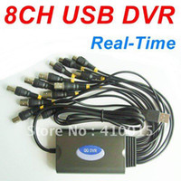Wholesale H fps Realtime CCTV USB DVR Card D1 CCTV USB DVR Plug amp Play Real time