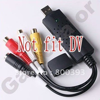 Wholesale Easycap USB Video TV DVD VHS Capture Adapter with USB CABLE