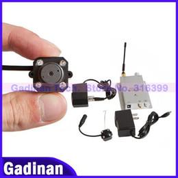 Promotion caméra pour la sécurité cctv 4 LED IR Wireless Security CCTV Camera + récepteur 1.2G, kit caméra sans fil CCTV