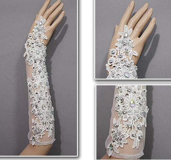 The Rules for bridal gloves