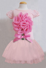 Wholesale 2013 NEW tutu Girls blooming flower girl pettiskirt baby petti skirt tulle one piece Kids Clothing