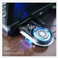 Wholesale USB radiator laptop cooling fan vent fan ventilation heat removal heat
