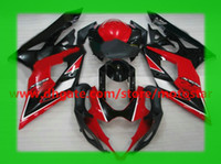 Comression Mold For Suzuki GSX-R1000 Fairing for 2005 2006 SUZUKI GSX-R1000 K5 GSXR1000 05 06 GSXR 1000 full fairings kit OEM red black #5KS