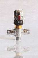 Wholesale BSP quot DN15 quot DN20 thermostatic valve for shower thermostatic mixer with adjustment handle