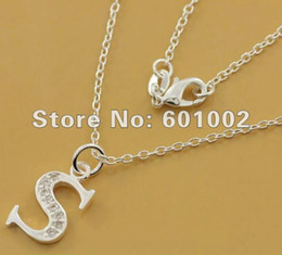 Wholesale GY PN562 Silver fashion jewelry Necklace pendants Chains silver necklace asv