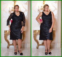 Wholesale 2013 Sex Black Plus Size Colum Mother Of Bride Dresses V neck Lace Wrap Zipper Cheap Formal Dress