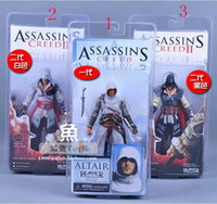 Wholesale NECA figures Three generations NECA Assassin s Creed II Ezio Standard Figure doll inch