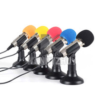 Wholesale Metal Professional mm ISK Desktop Mini Microphone MIC Hood For PC Computer Laptop Notebook