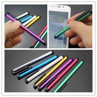 Wholesale 2015 hot sale Cell Phone Stylus Pens Metal Universal Stylus handwritten touch pen accessories for capacitance screen
