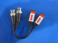 Wholesale Coax CAT5 To CCTV Camera BNC Video Balun Transceiver BNC Connectors for CCTV Camera pair H818