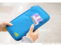 bankbook pocket organizer - 1pcs Organizer Multi Bag Canvas Traveling Handy Bag Card Wallet Bankbook Pocket