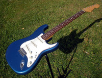 Wholesale best Custom Shop Strat Closet Classic Lake Placid Blue Rosewood Fretboard electric guitar OEM