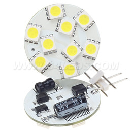 Wholesale Free Shipment G4 Led Lamp AC DC10 V LEDS SMD White Warm White Yachts Boats Ships Automobiles Carts