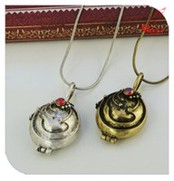 Women's antique news - Min order is mix order News year Vampire Diaries Classic Retro Gem Pendant Open Antique Necklac