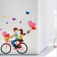 Wholesale TV setting wall of bedroom setting wall stick children room cartoon background more optional