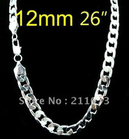 Wholesale 26 inchs surprising mm sterling silver snake chain necklace LCHN