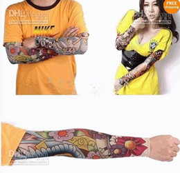 Wholesale Hot sale NEW Temporary Arm Fake TATTOO SLEEVES Different Designs Mix