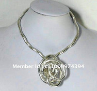 Wholesale Silver bendy snake necklace diameter mm length cm quot