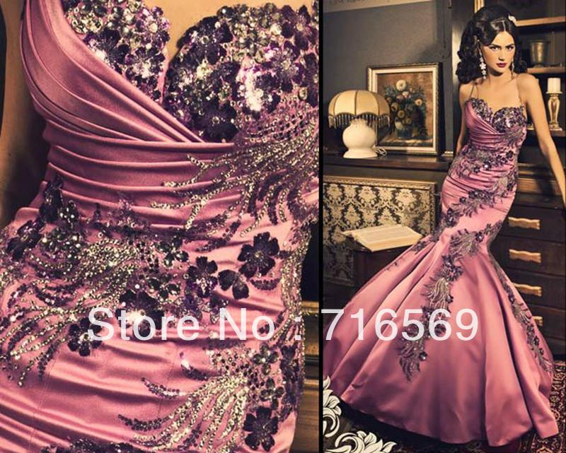 Pink Prom Dresses 2013 Strapless Prom Dresses 2013