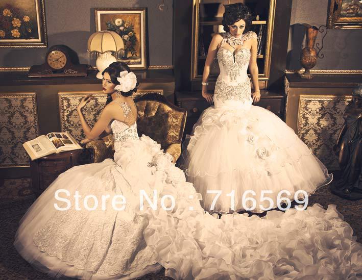Discount Trumpet Custom Made Wedding Dresses In Dubai Train ...