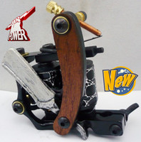Wholesale 4pcs Tattoo Machine Gun Top Hand Made Tattoo Machine HW Black Tattoo Supplies