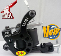 Wholesale 4pcs Tattoo Machine Gun Top Hand Made Tattoo Machine HW Black Liner Supplies