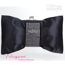 Wholesale Gorgeous Satin Evening Bag Handbag Purse Clutch Wedding Party Handbag Purse More colors