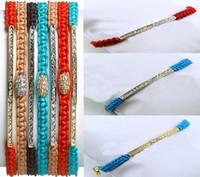 Wholesale 15 OFF European and American fashion handmade hand bracelet Fashion bracelets