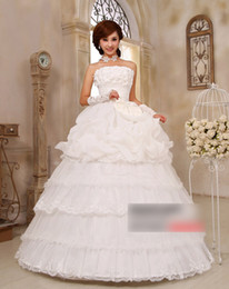 Wholesale korea style sexy wedding grown with Bow fashion bride dress