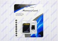Wholesale 100pcs ADATA GB Class Micro SD TF Memory Card With Adapter Retail Package Flash SD SDHC Cards A
