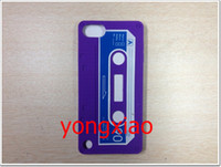 Wholesale Tape Cassette Case For ipod Itouch touch Touch5 Soft Silicone Rubber Back Cover
