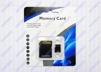 Wholesale 20pcs GB Class Micro SD TF Memory Card with Adapter Retail Package Flash SD SDHC Cards Comcom