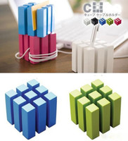 Wholesale Popular Magic Cube Storage Rack Winding Device CD Fame Penholder Magazine Rack