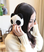 Wholesale Fashion Winter Earcap High Quality Cheap Price Candy Plush Earmuffs Panda earmuffs
