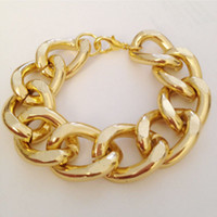 Wholesale 2012 most popular chunky gold bracelets hand made bracelets women s men s bracelets chain bangles fa