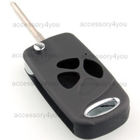 Wholesale NEW Folding Key Remote Case for TOYOTA RAV4 YARIS CAR