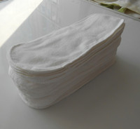 Wholesale 3 Layer Inserts Changing Pads for BABY CLOTH DIAPER NAPPY NAPPies in baby use Cotton Hot