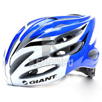 Wholesale High Quality Giant Bicycle Helmet Safety Bike Cycling Helmet Blue Red Yellow