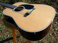 Wholesale best D Dreadnought Acoustic guitar Spruce Top Rosewood Back Ebony Fretboard Mint OEM Available Ch