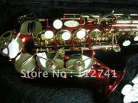 Wholesale new custom XG Red Soprano Saxophone factory in China