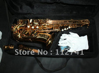Wholesale NEW Alto Saxophone Very beautiful free case Best Selling