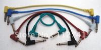 Wholesale set pack quot TRS quot TRS cm guitar effects patch cables effect cable