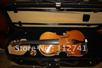 Wholesale FULL SIZE VINTAGE CONCERT GERMAN VIOLIN FIDDLE BOW WITH CASE