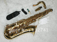 Wholesale High Quality Gold CTE Tenor Saxophone Free case OEM Available